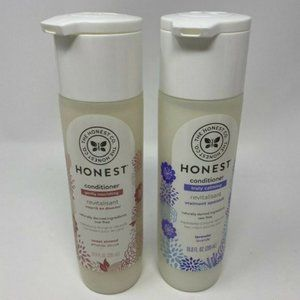 NEW Lot of 2 The HONEST Co. Natural Conditioner